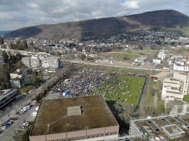 Protestmarsch Liestal